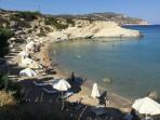 Pláž Mikri Amoopi - ostrov Karpathos foto 4
