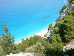 Pláž Egremni - ostrov Lefkada foto 1
