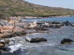 Pláž Spinalonga - ostrov Kréta foto 2