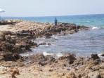 Pláž Stalida - ostrov Kréta foto 11