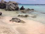 Pláž Elafonisi - ostrov Kréta foto 28