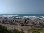 Pláž Rethymno - ostrov Kréta foto 1