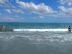 Pláž Rethymno - ostrov Kréta foto 10