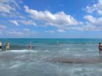 Pláž Rethymno - ostrov Kréta foto 11