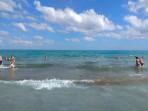 Pláž Rethymno - ostrov Kréta foto 12