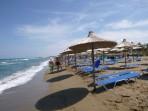 Pláž Amoudara (Heraklion) - ostrov Kréta foto 12