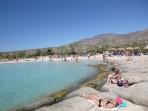 Pláž Elafonisi - ostrov Kréta foto 1