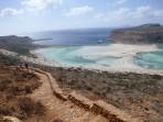 Pláž Balos - ostrov Kréta foto 27
