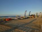 Pláž Rethymno - ostrov Kréta foto 23