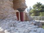 Knossos (archeologické naleziště) - ostrov Kréta foto 12