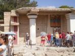Knossos (archeologické naleziště) - ostrov Kréta foto 19