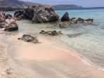 Pláž Elafonisi - ostrov Kréta foto 34