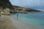 Pláž Xigia - ostrov Zakynthos foto 2