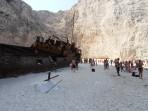 Pláž Navagio (Pláž Ztroskotání) - ostrov Zakynthos foto 14