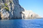 Modré jeskyně (Blue Caves) - ostrov Zakynthos foto 3