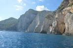 Modré jeskyně (Blue Caves) - ostrov Zakynthos foto 7