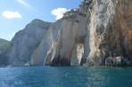 Modré jeskyně (Blue Caves) - ostrov Zakynthos foto 8