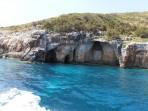 Modré jeskyně (Blue Caves) - ostrov Zakynthos foto 29