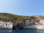 Modré jeskyně (Blue Caves) - ostrov Zakynthos foto 30