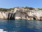 Modré jeskyně (Blue Caves) - ostrov Zakynthos foto 34