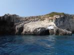 Modré jeskyně (Blue Caves) - ostrov Zakynthos foto 35