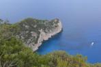 Vrak lodi (pláž Navagio) - ostrov Zakynthos foto 3