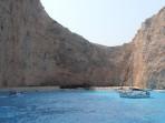 Vrak lodi (pláž Navagio) - ostrov Zakynthos foto 7