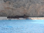 Vrak lodi (pláž Navagio) - ostrov Zakynthos foto 8