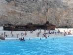 Vrak lodi (pláž Navagio) - ostrov Zakynthos foto 9