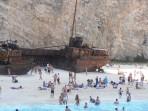 Vrak lodi (pláž Navagio) - ostrov Zakynthos foto 10