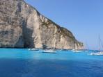 Vrak lodi (pláž Navagio) - ostrov Zakynthos foto 11