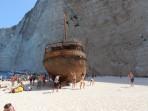 Vrak lodi (pláž Navagio) - ostrov Zakynthos foto 17