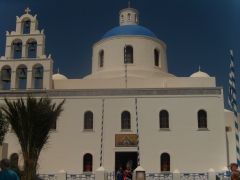 Kostel Panagia Platchani (Oia)