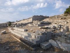 Prohlídka starověké Théry