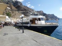 Lodní výlet kalderou