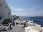 Město Fira - ostrov Santorini foto 4