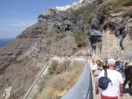Město Fira - ostrov Santorini foto 8