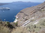 Město Fira - ostrov Santorini foto 9