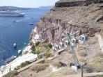 Město Fira - ostrov Santorini foto 16