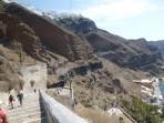 Město Fira - ostrov Santorini foto 17