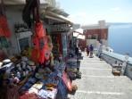 Město Fira - ostrov Santorini foto 35