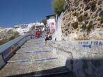 Město Fira - ostrov Santorini foto 36