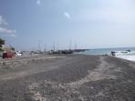 Pláž Vlychada - ostrov Santorini foto 4