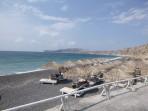 Pláž Vlychada - ostrov Santorini foto 6
