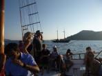 Lodní výlet kalderou - ostrov Santorini foto 34