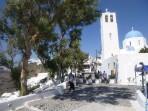 Kostel Agios Gerasimos - ostrov Santorini foto 2