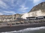 Pláž Black Beach - ostrov Santorini foto 1