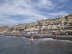 Pláž Black Beach - ostrov Santorini foto 2