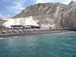 Pláž Black Beach - ostrov Santorini foto 5