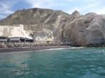 Pláž Black Beach - ostrov Santorini foto 6